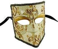Bauta Venice Carnival Mask