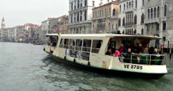 Tourist Travel Card Venice Italy boat