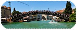Venice italy attraction Accademia Bridge