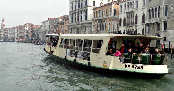 Vaporetto Venice Italy