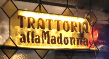 One of my Favorite Restaurants in Venice 'Trattoria all Madonna'