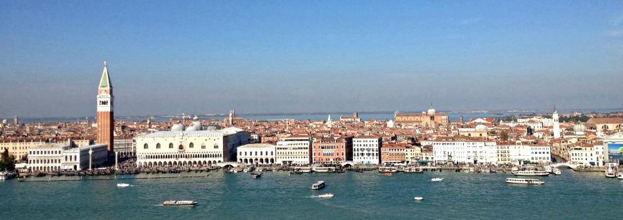San Giorgio view tower Venice Italy
