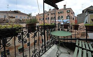 Venice Italy apartments with balcony
