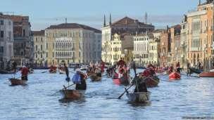 La Befana Regatta Venice Italy