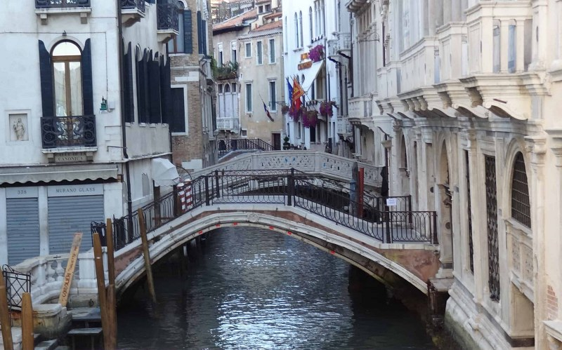 The bridges during Venice Italy Holiday are amazing
