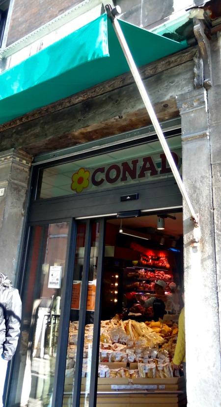 Conad Supermarkets are all around Venice