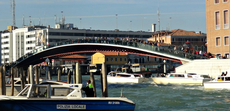 Ponte di Calatrava Venice italy, for many their starting point