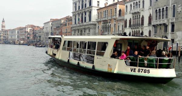 Wheelchair boat Venice Italy