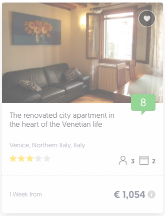 Book an apartment in the centre of Venice