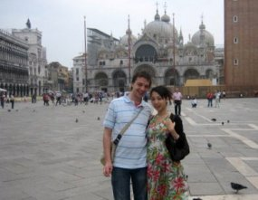 Piazza San Marco posing