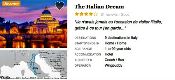 Coach holidays Venice Italy