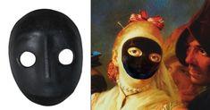 Moretta Venice Carnival Mask