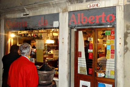 Venice Restaurants Osteria Da Alberto