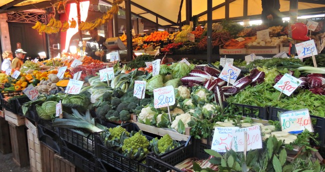 Rialto Market Venice Information