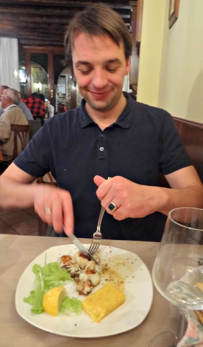 Eating in Venice Restaurant Vini di Giglio
