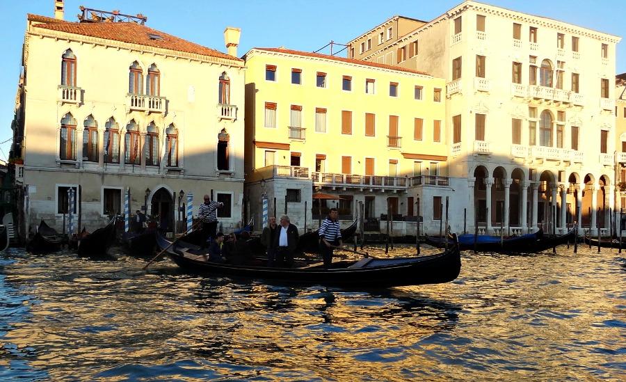 Traghetto Grand Canal Venice Italy