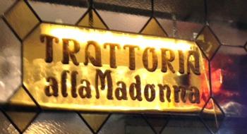 Venice restaurants Trattoria alla Madonna