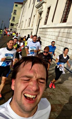 Venice marathon 10km run