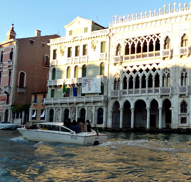 Water Taxi on the Grand Canal