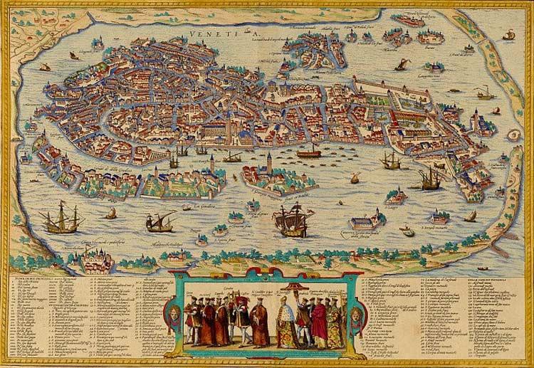 History of Venice Italy