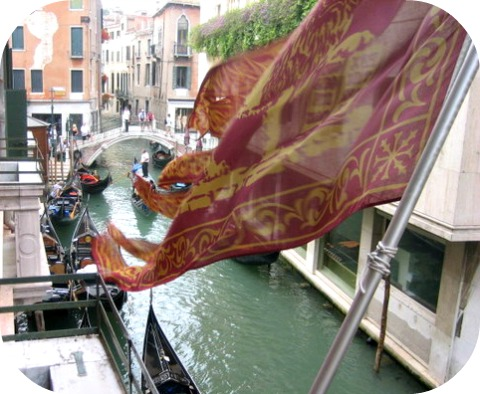 Hotel Lisbona Venice Canal view