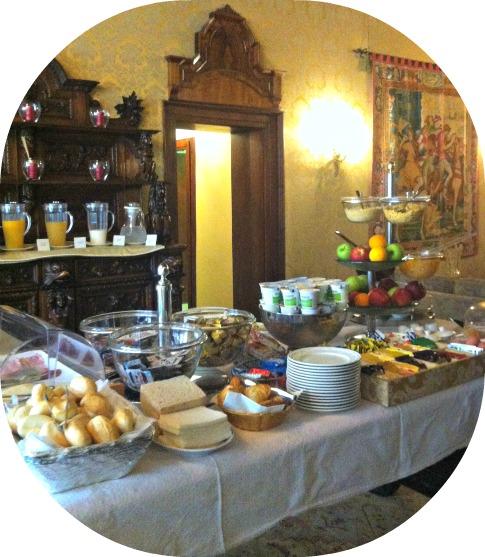 Breakfast at Venice Hotel Palazzo Priuli