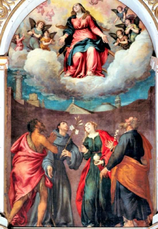Accademia Gallery huge paintings