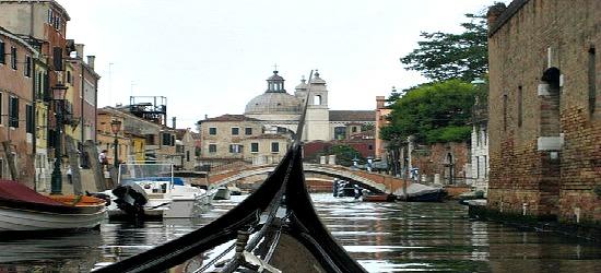 Venice Italy Holiday gondola