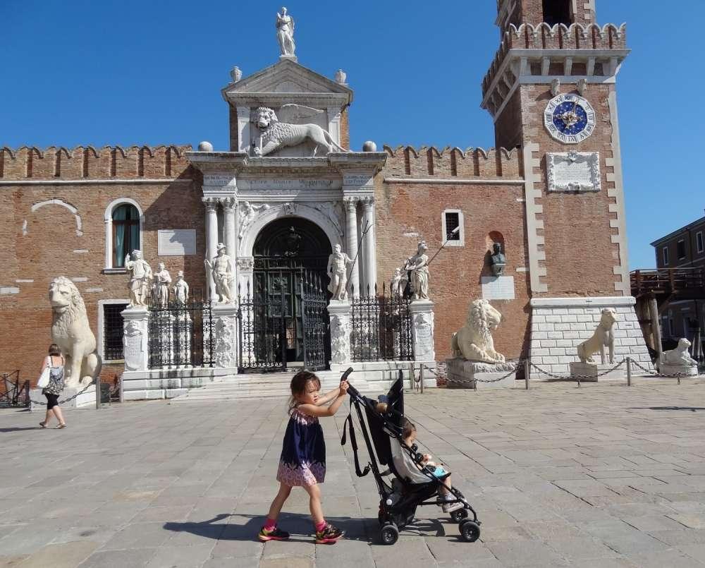 Venice Tourist Tax - hot for kids arsenal