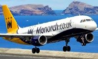 Monarch Venice flight