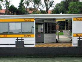Burano boatline